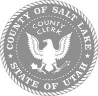 Seal of the Salt Lake County Clerk's office